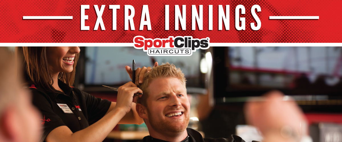 The Sport Clips Haircuts of Hudson  Extra Innings Offerings